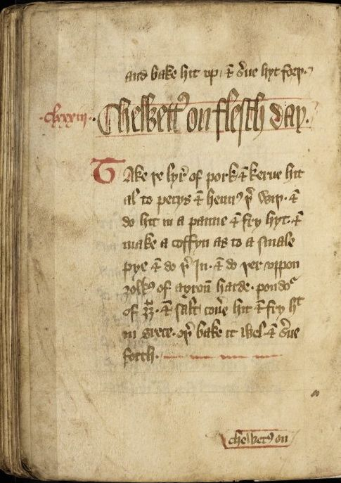 Forme of Cury Rylands MS 7