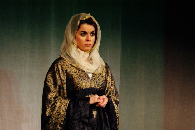 Charlie Wilson as Guinevere in The Wife of Bath's Tale