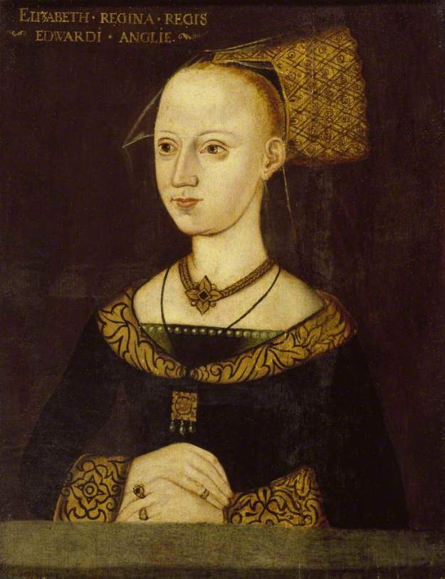 Portrait of Elizabeth in the Ashmolean Museum, c. 1500.