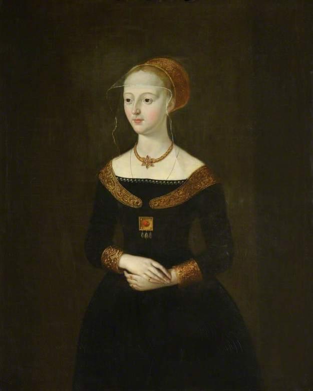 Portrait of Elizabeth. Queen's College, Cambridge.