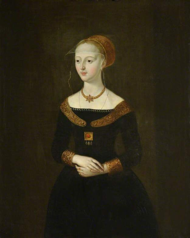 Portrait of Elizabeth. Queen's College, Cambridge.