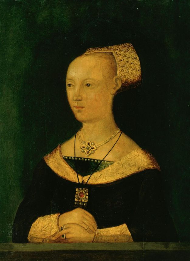 Portrait of Elizabeth from the Royal Collection, Windsor.
