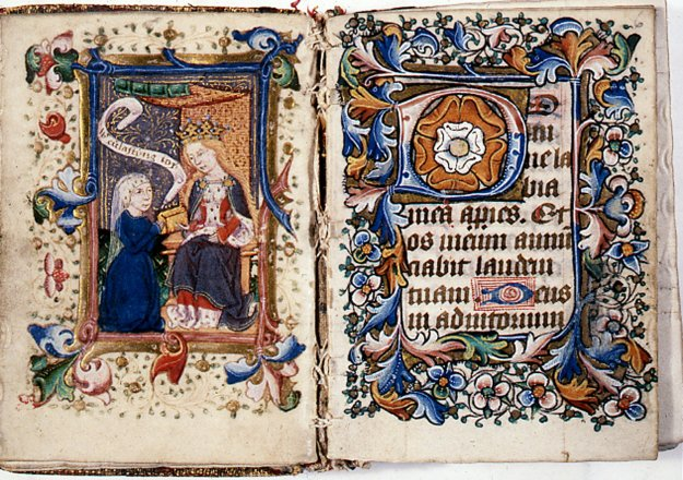 Liverpool Cathedral Hours Of Virgin F V R on Life In The Middle Ages Book
