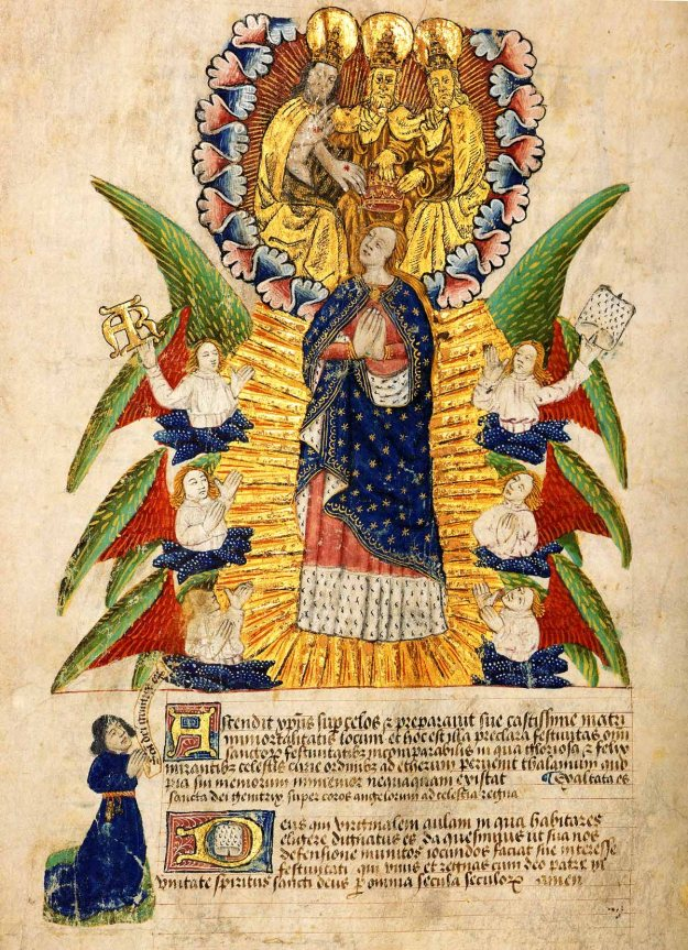 Assumption of the Virgin Mary. London, Skinners' Company.