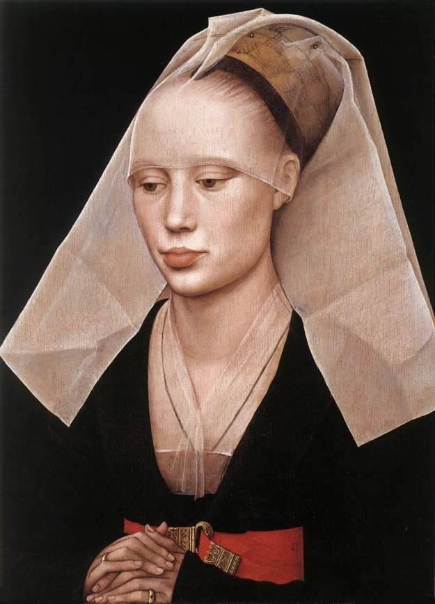 Truncated henin in A Portrait of a Lady by Van der Weyden