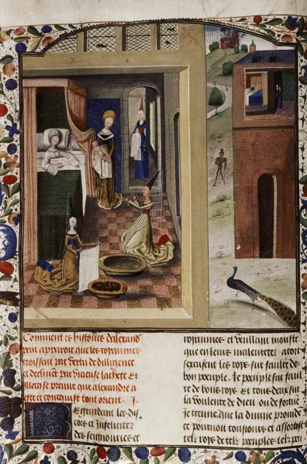 Birth of Alexander the Great, Oxford Bodleian Laud Misc. 751.
