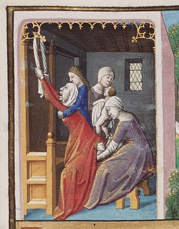 Birth of Jacob and Esau in Hague MMW 10 A 11.