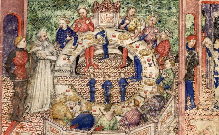 The appeal of king arthur across the centuries professor for 12 knights of the round table characters