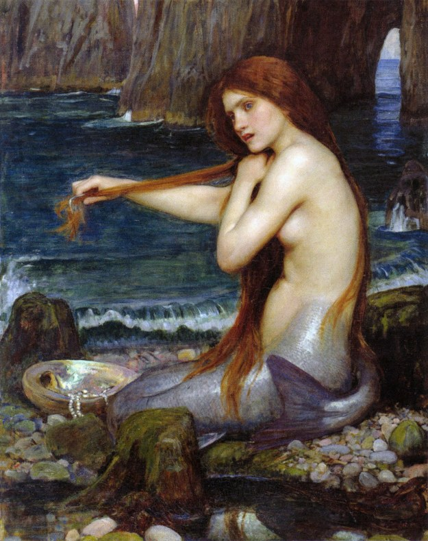 A Mermaid, John William Waterhouse.