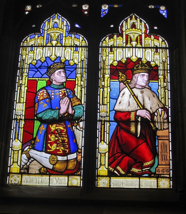 Richard, duke of York, and his son Edward IV. Ludlow Church.