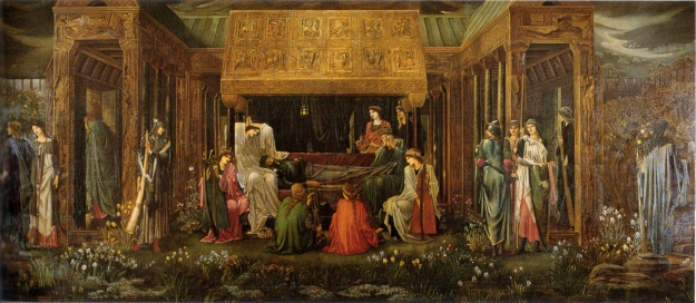 Edward Burne-Jones's 'The Last Sleep of Arthur in Avalon'.