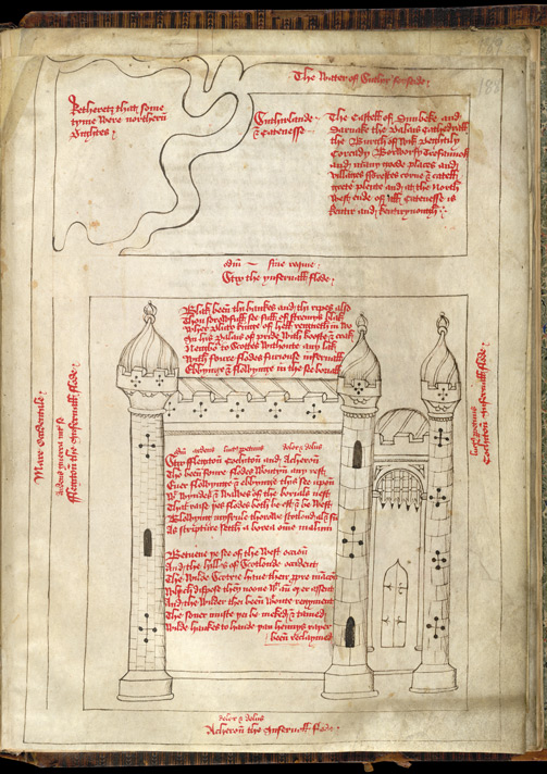 Pluto's Palace of Pride in British Library MS Harley 661, f. 188.