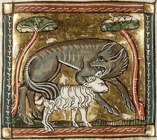 wolf Koninklijke Bibliotheek, KB, KA 16, Folio 62r